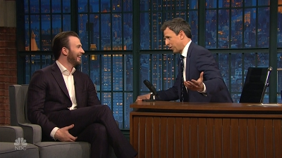S04E95 - Chris Evans, Mandy Patinkin, Michelle Branch, Jonathan Mover