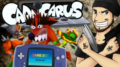 S2017E56 - Crash Bandicoot.....on GAMEBOY ADVANCE?!