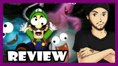 S2018E64 - Luigi\'s Mansion Review (Nintendo 3DS)