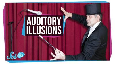 S2018E63 - How Auditory Illusions Trick Your Brain into Hearing Things