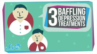 S2018E94 - 3 Baffling Depression Treatments and Why They Might Work