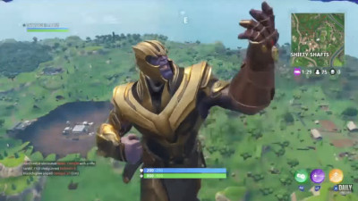 S01E377 - THANOS USING A PICKAXE..!! (episode 377)