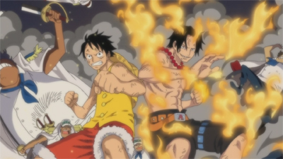 S13E100 - Ace is Rescued! Whitebeard\'s Final Captain\'s Orders!