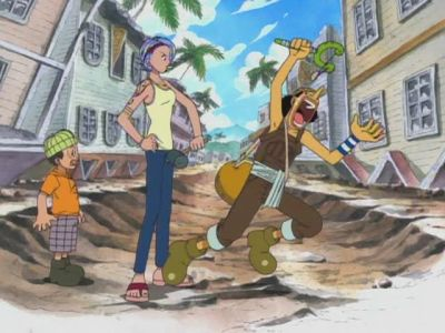 S03E02 - Witch of Cocoyashi Village! Arlong\'s Female Leader!