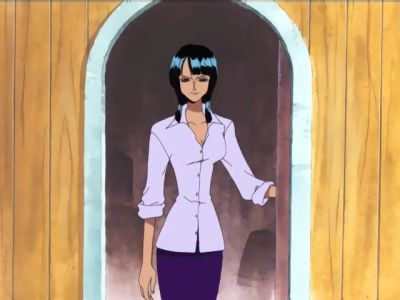 S07E39 - Scent of Danger! The Seventh Member is Nico Robin!