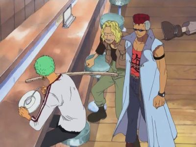 S08E05 - The Fabled Pirate Hunter! Zoro, The Wandering Swordsman!