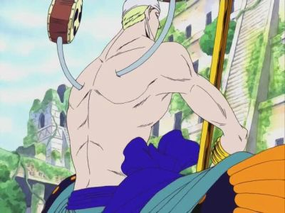 S09E37 - Battle in the Ancient Ruins! God Enel\'s Desire!!