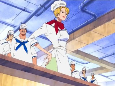 S10E02 - Sanji the Chef! Demonstrating True Pride at the Marine Mess Hall!
