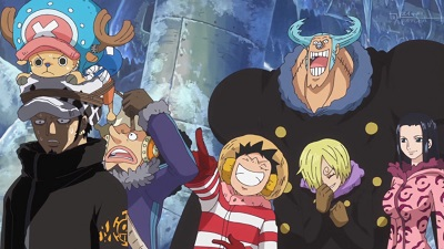 S16E15 - Formation! The Pirate Alliance Luffy-Law!