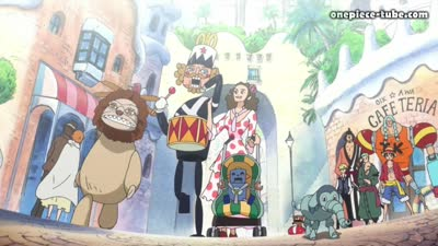 S17E02 - Adventure! The Country of Love and Passion, Dressrosa