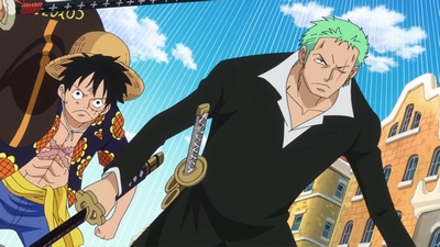 S17E54 - Breakthrough the Enemy Lines - Luffy and Zoro\'s Counterattack!