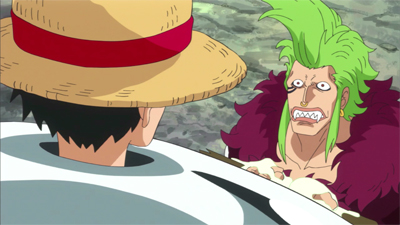 S18E01 - The Silver Fortress! Luffy and Barto\'s Great Adventure!