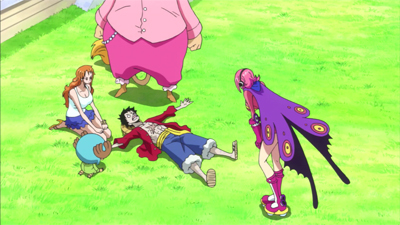 S19E06 - A Deadly Poison Crisis! Luffy and Reiju!