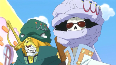 S19E15 - A Battle Between Father and Son – Judge vs. Sanji