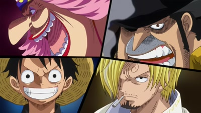 S19E50 - Luffy Engages in a Secret Maneuver! The Wedding full of Conspiracies Starts Soon!